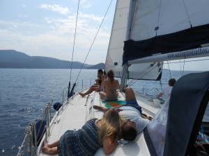 Great time on Diamanti sailing boat in Skiathos