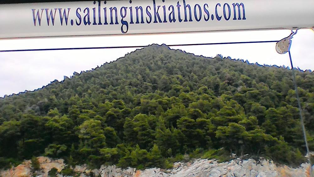 Great time on Diamanti sailing boat in Skiathos